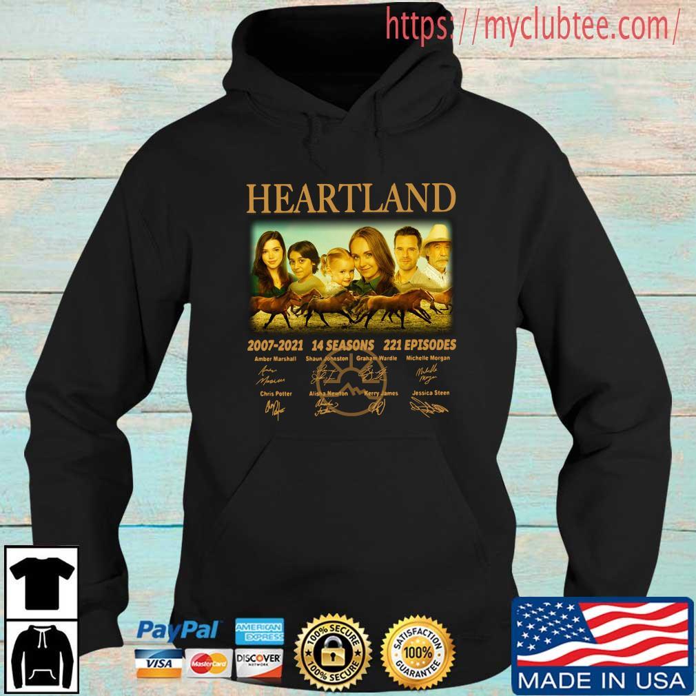 Heartland 2007-2021 14 seasons 221 episodes signatures s Hoodie den