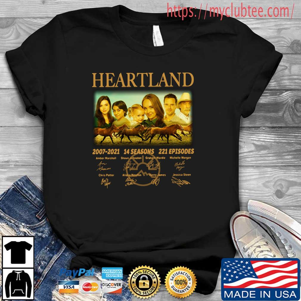 Heartland 2007-2021 14 seasons 221 episodes signatures shirt