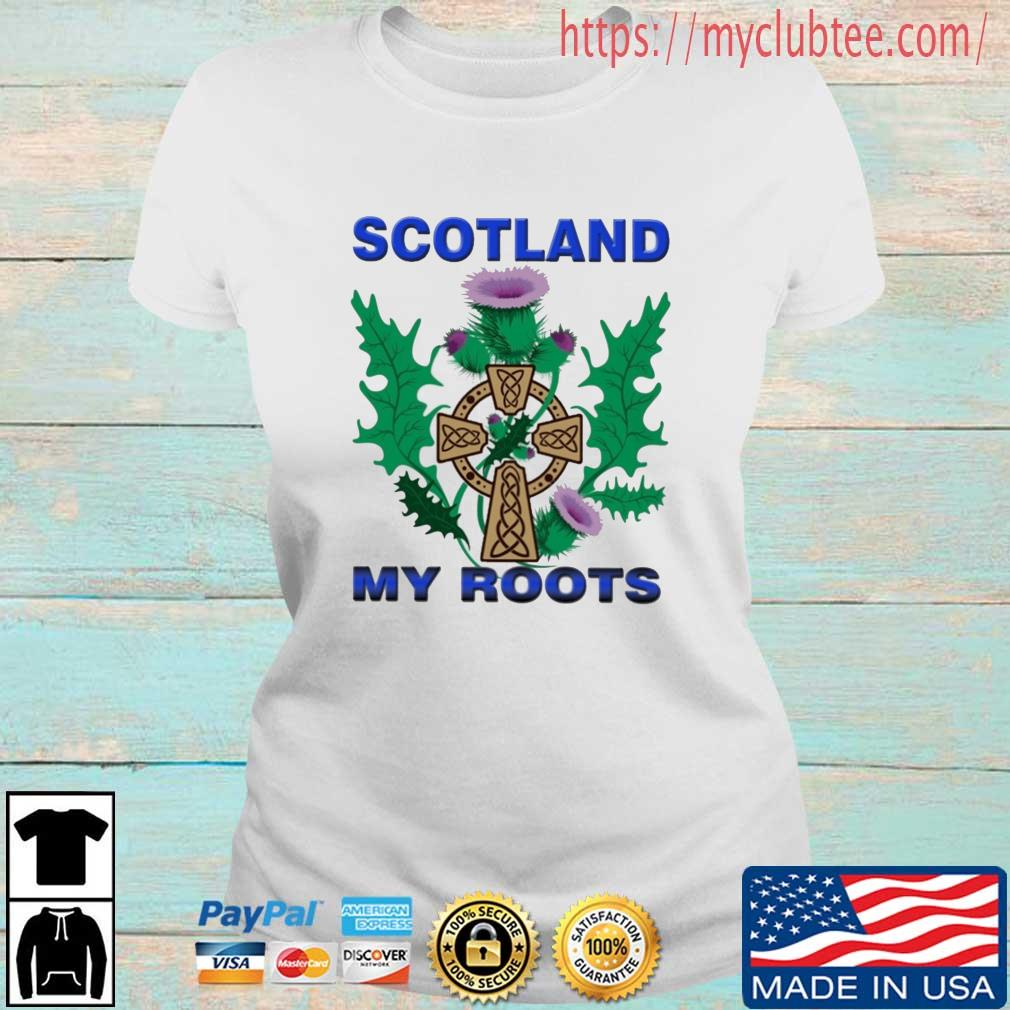 Scotland My Roots Classic Shirt Ladies tran
