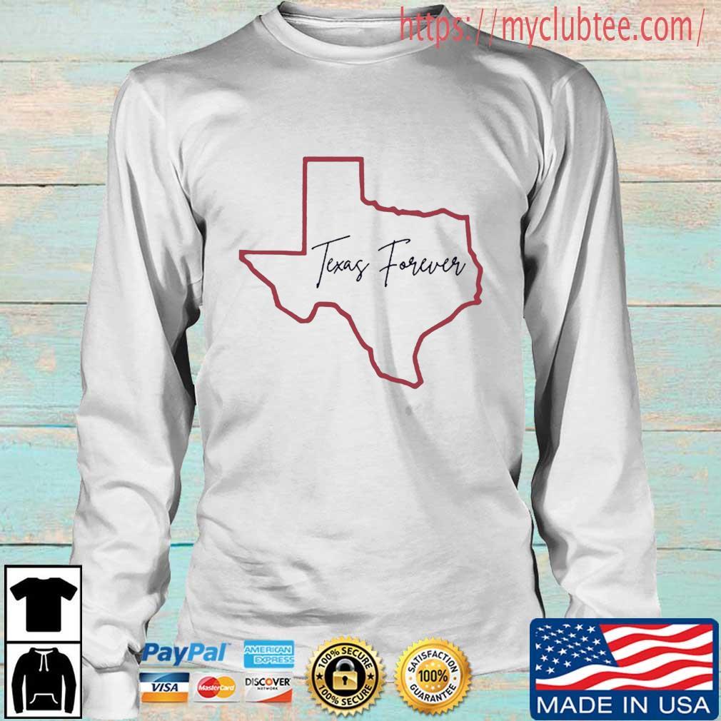 Texas Forever Shirt Longsleeve trang