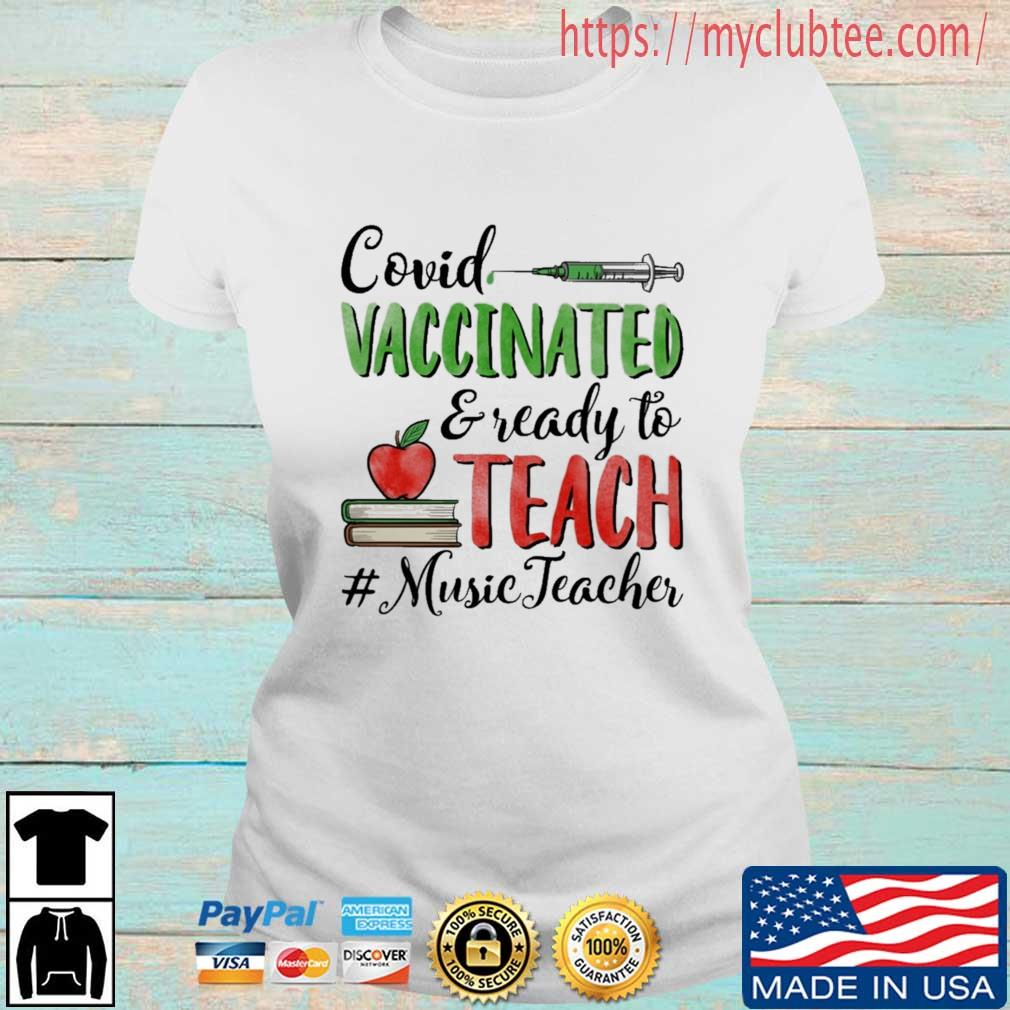 Covid vaccinated and ready to teach #MusicTeacher Ladies tran