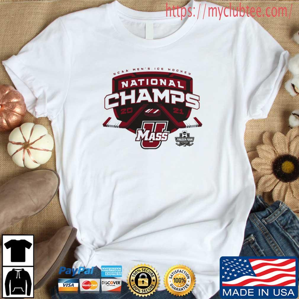 2021 Ncaa Men's Ice Hockey National Champions Shirt