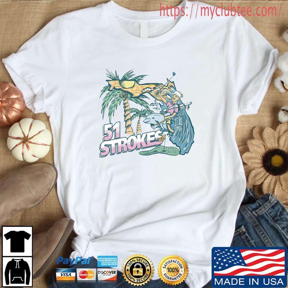 51 Strokes Crewneck Pocket Shirt