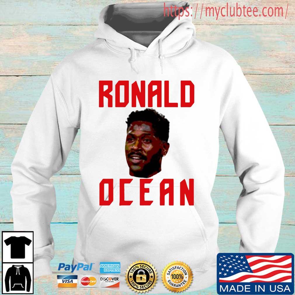 Antonio Brown Ronald Ocean Shirt Hoodie trang