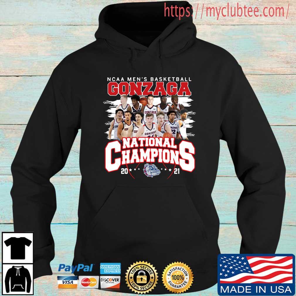 Ncaa men's basketball Gonzaga Bulldogs national champions 2021 Hoodie den