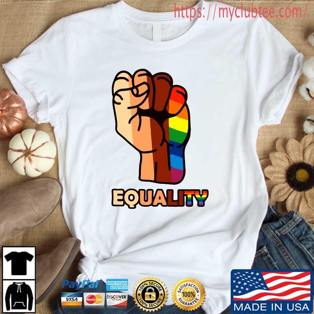 LGBT Hand Equality Shirt