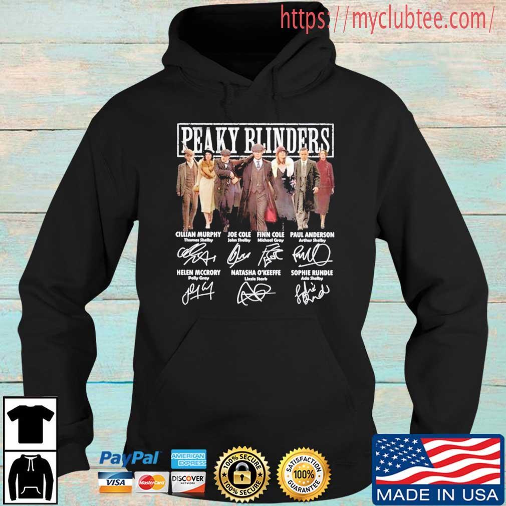Peaky Blinders Members Signatures Shirt Hoodie den