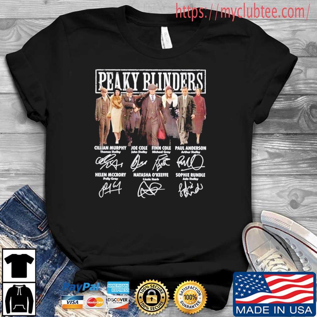 Peaky Blinders Members Signatures Shirt