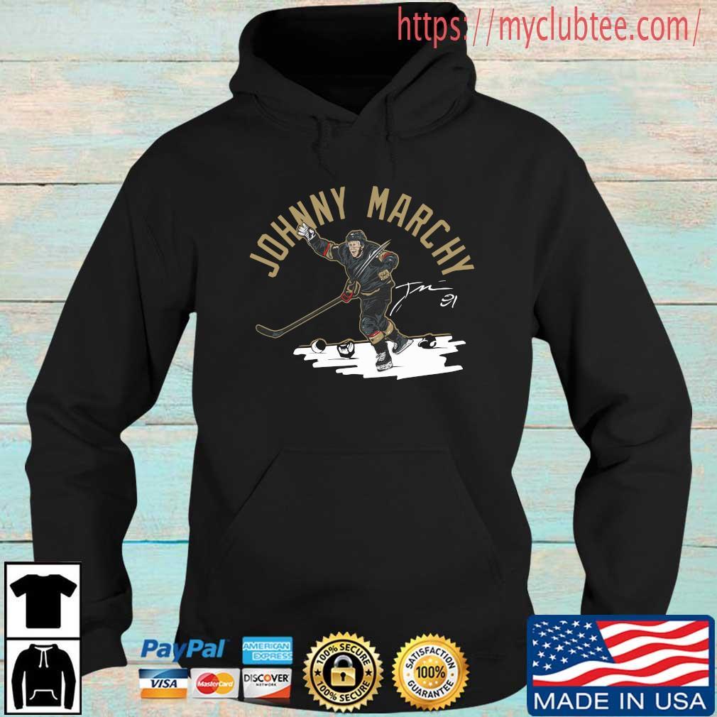 Johnny Marchy Hockey Signature Shirt Hoodie den