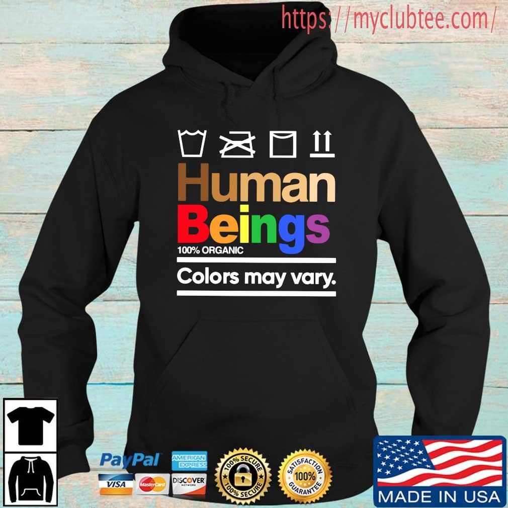LGBT human beings 100 organic colors may vary Hoodie den