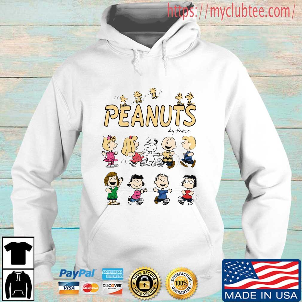 The Peanuts Characters By Schulz Shirt Hoodie trang