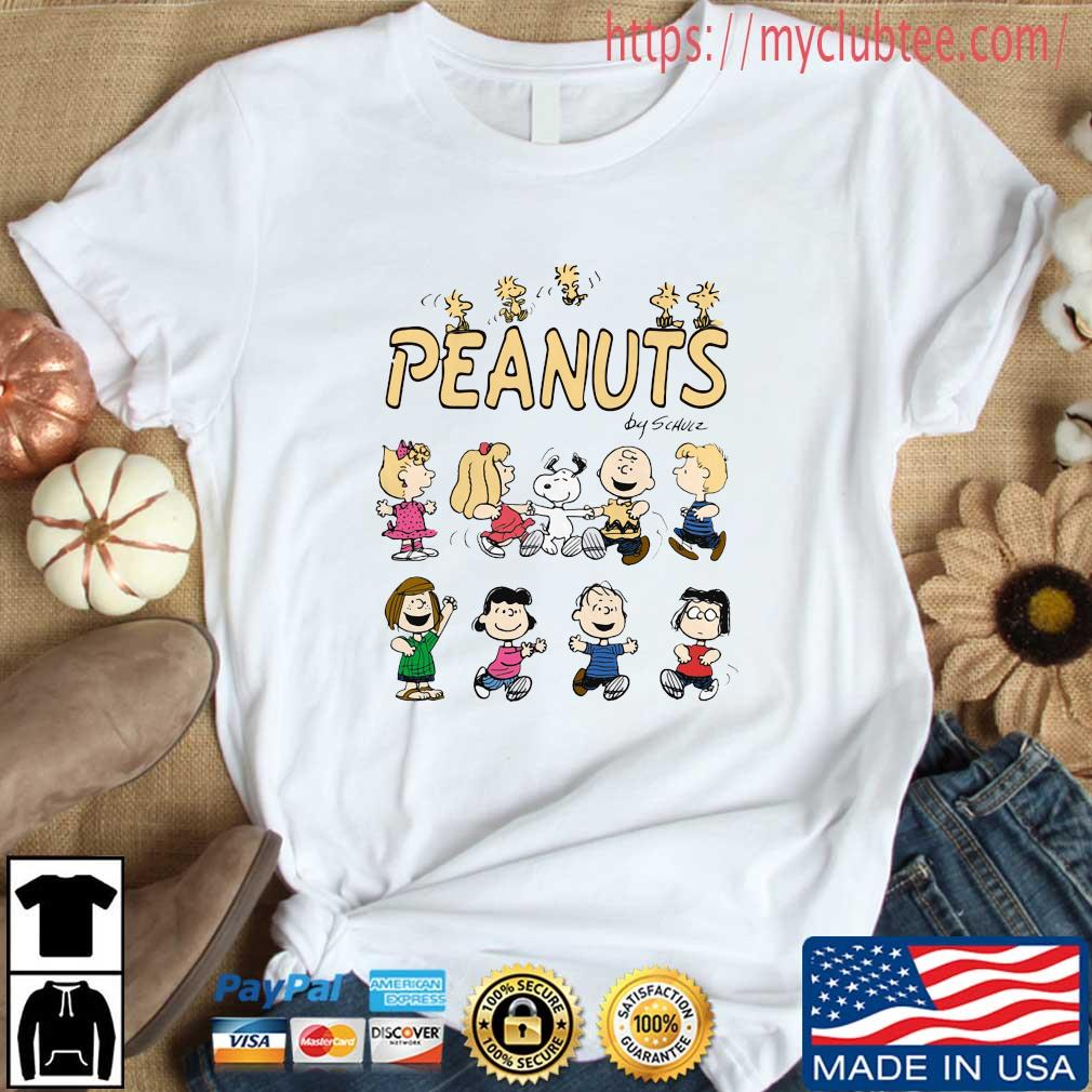 The Peanuts Characters By Schulz Shirt