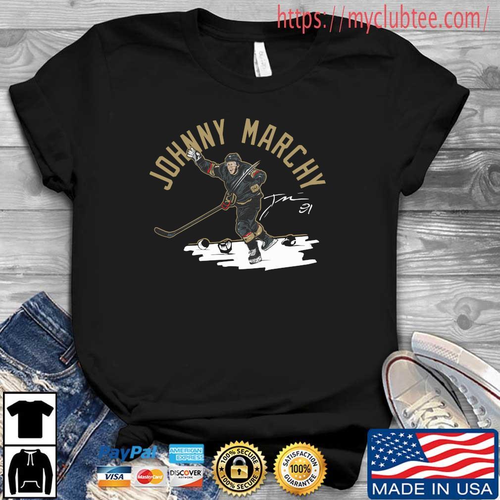 Johnny Marchy Hockey Signature Shirt