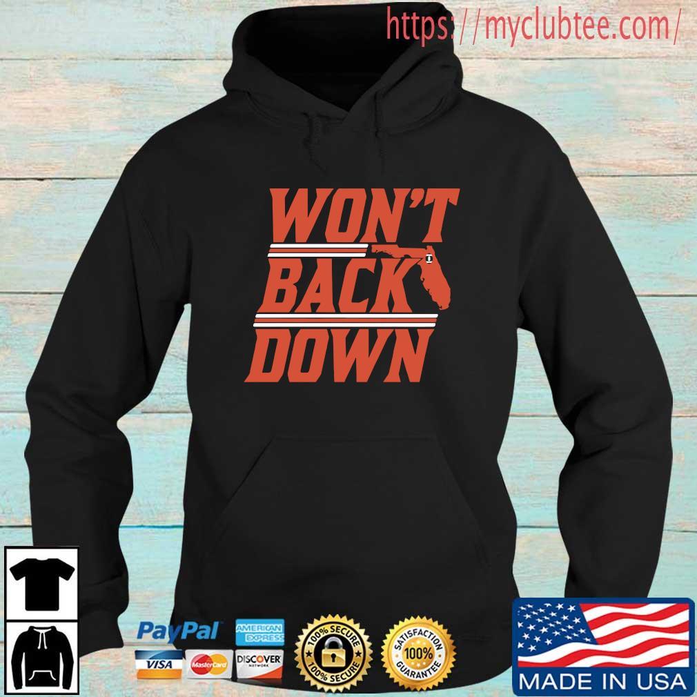 Won't Back Down Gainesville Shirt Hoodie den