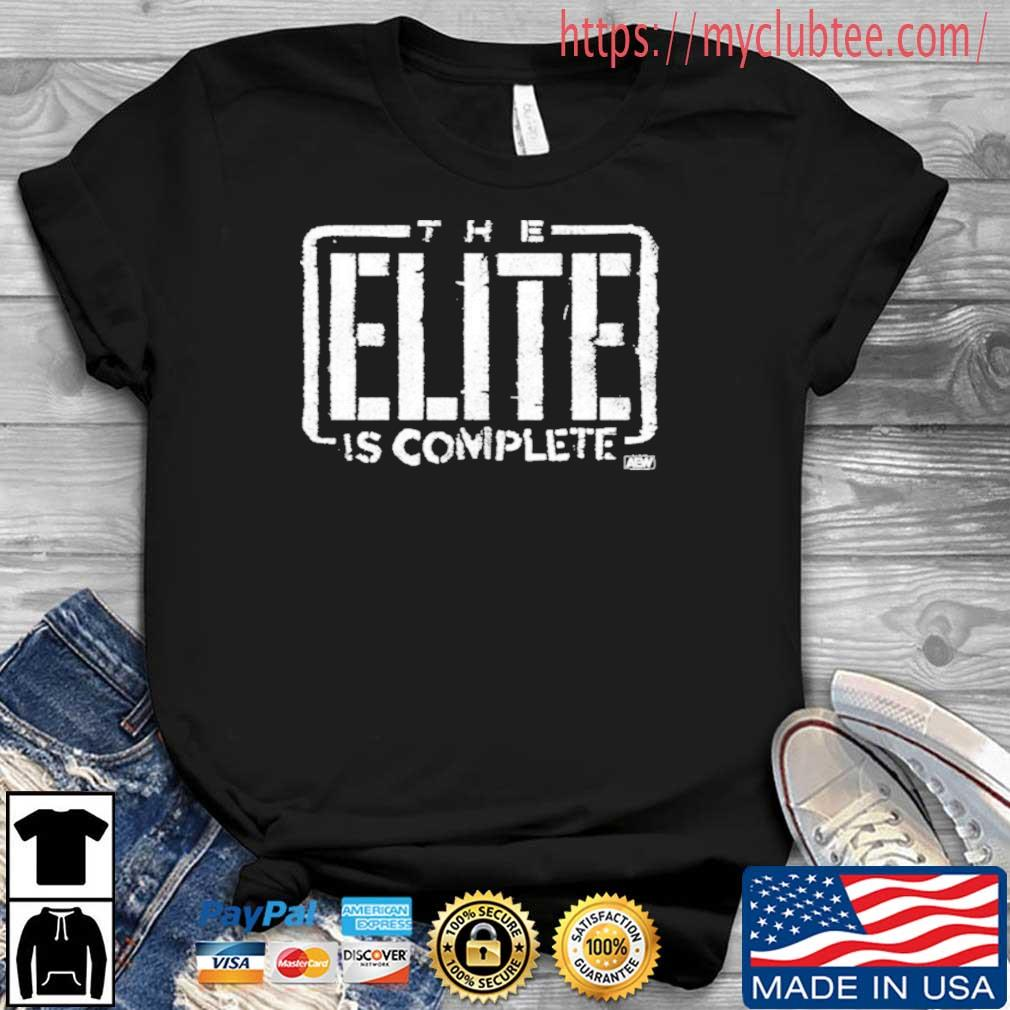The Elite Is Complete Young Bucks Shirt
