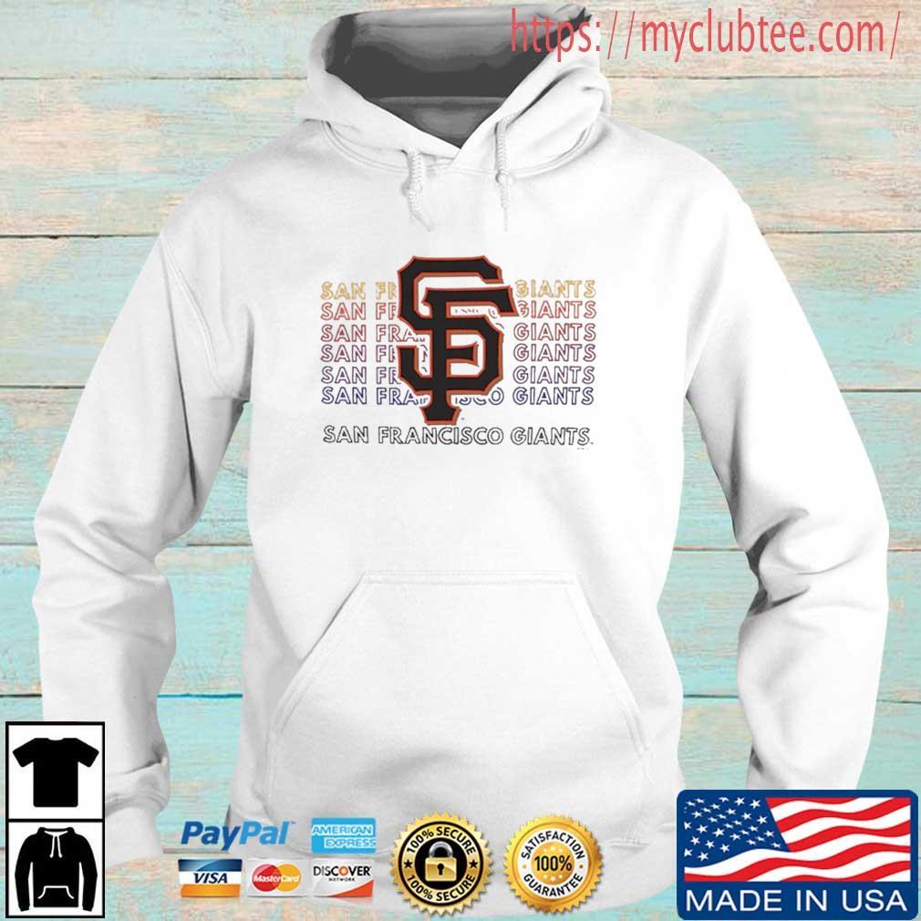 Concepts Sport San Francisco Giants Shirt Hoodie trang