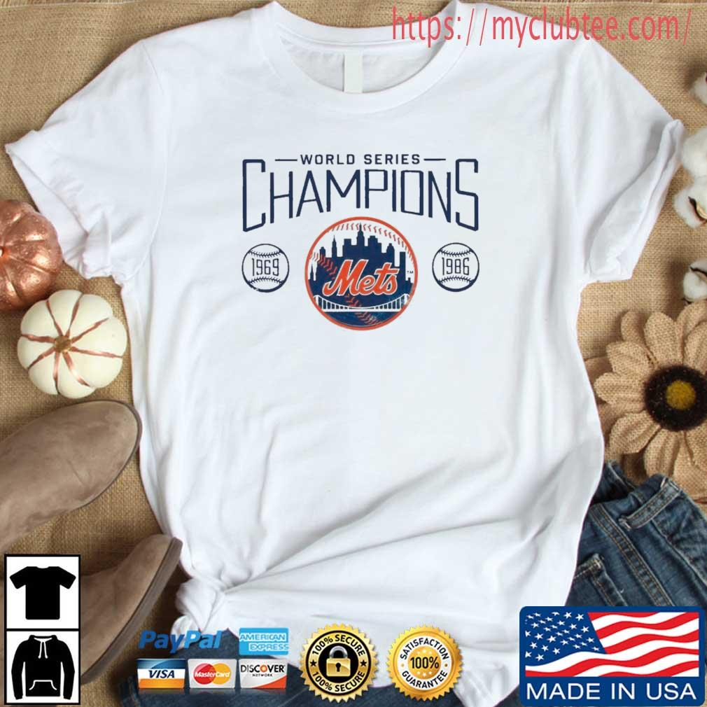 New York Mets Fanatics Branded Royal 1986 World Series 35th Anniversary Charge The Mound Shirt