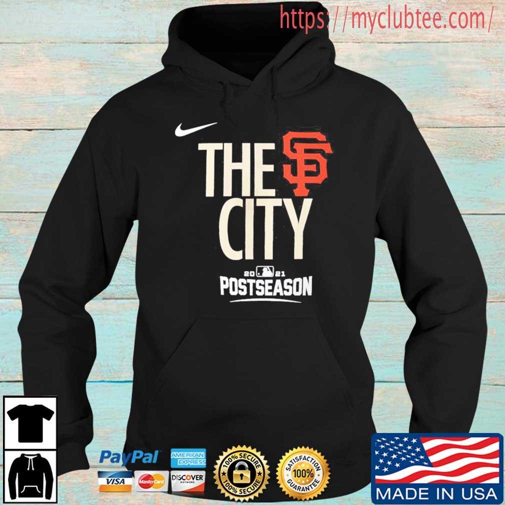 The San Francisco Giants City Postseason Shirt Hoodie den