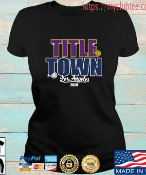 Title Town Los Angeles 2020 Shirt Ladies den