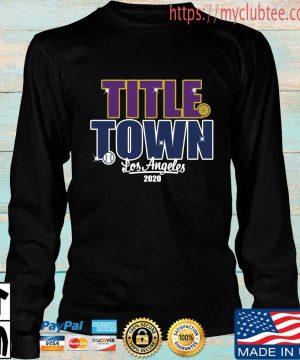Title Town Los Angeles 2020 Shirt Longsleeve den