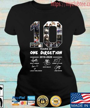 10 years of One Direction 2010 2020 signatures s Ladies den