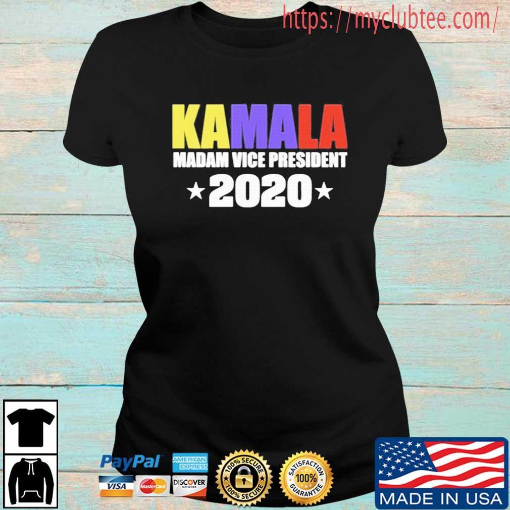 Kamala Harris Madam Vice President 2020 Shirt Ladies den