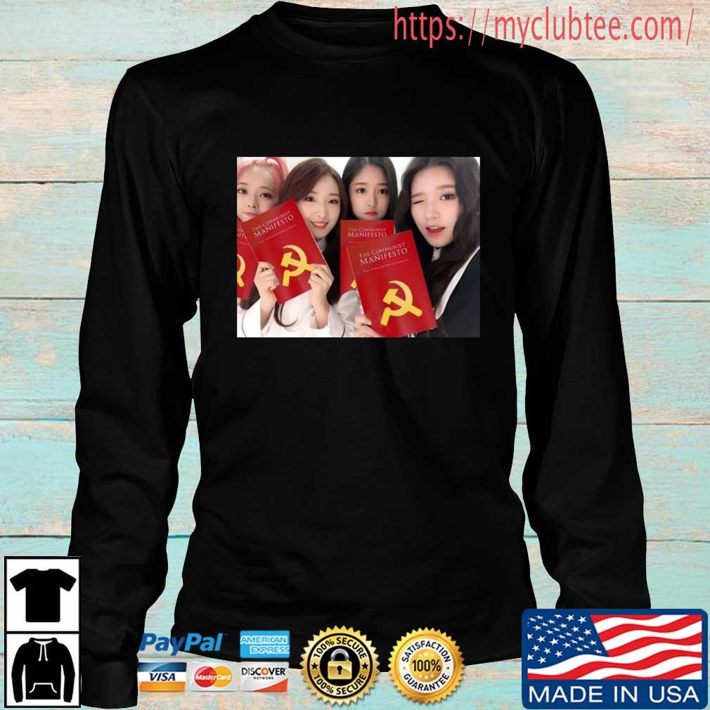 Loona The Communist Manifesto Shirt Longsleeve den