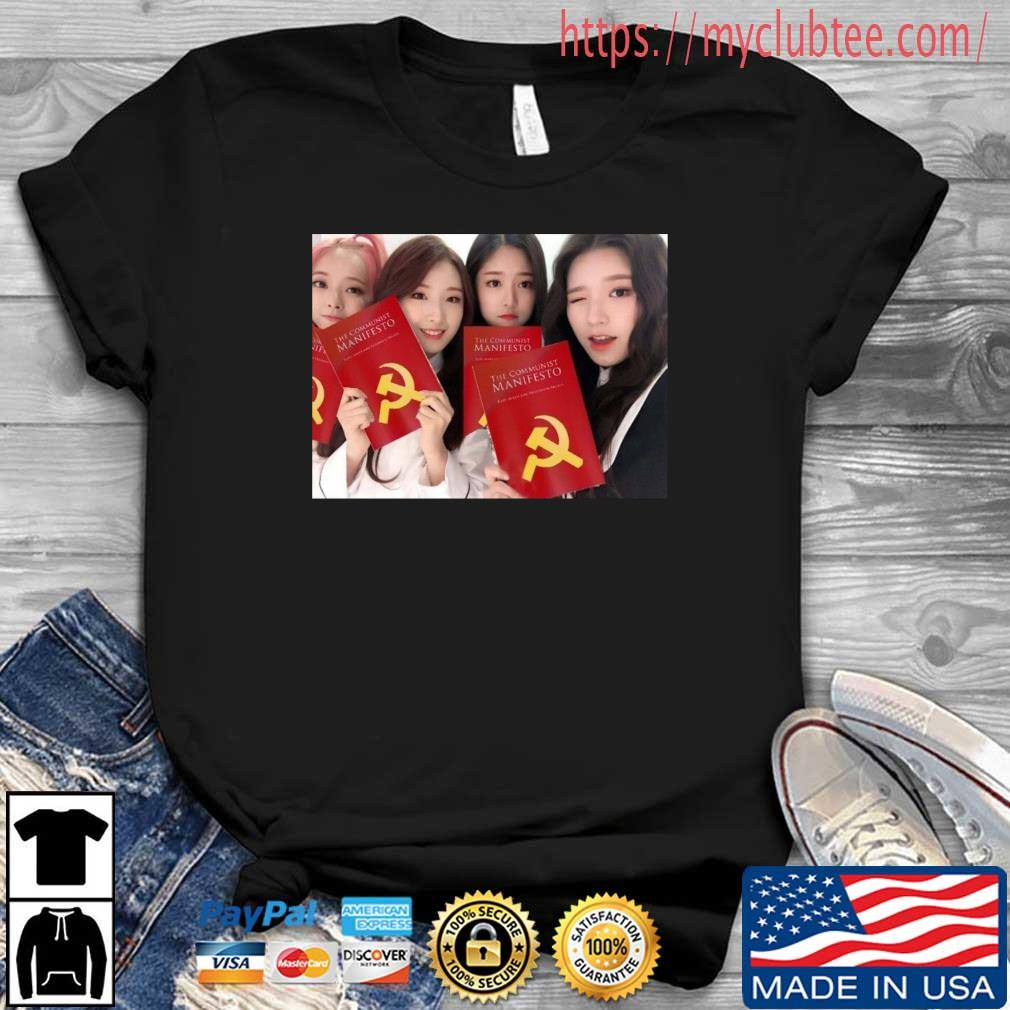 Loona The Communist Manifesto Shirt Shirt den
