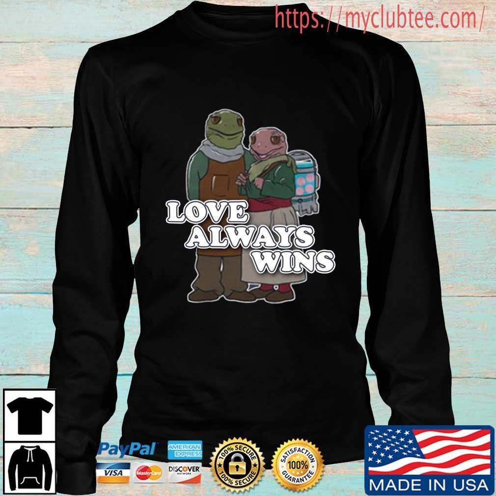 Love always wins s Longsleeve den