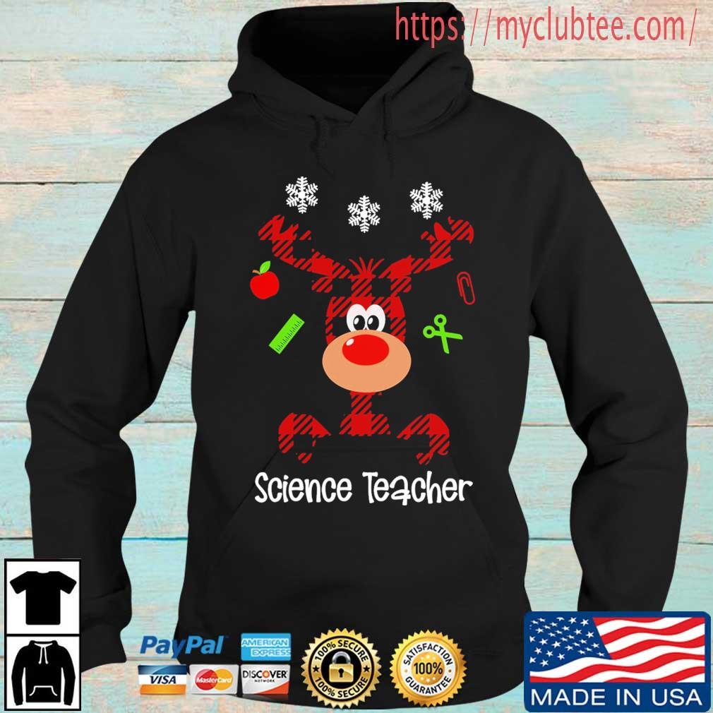 Reindeer Science Teacher Christmas sweater