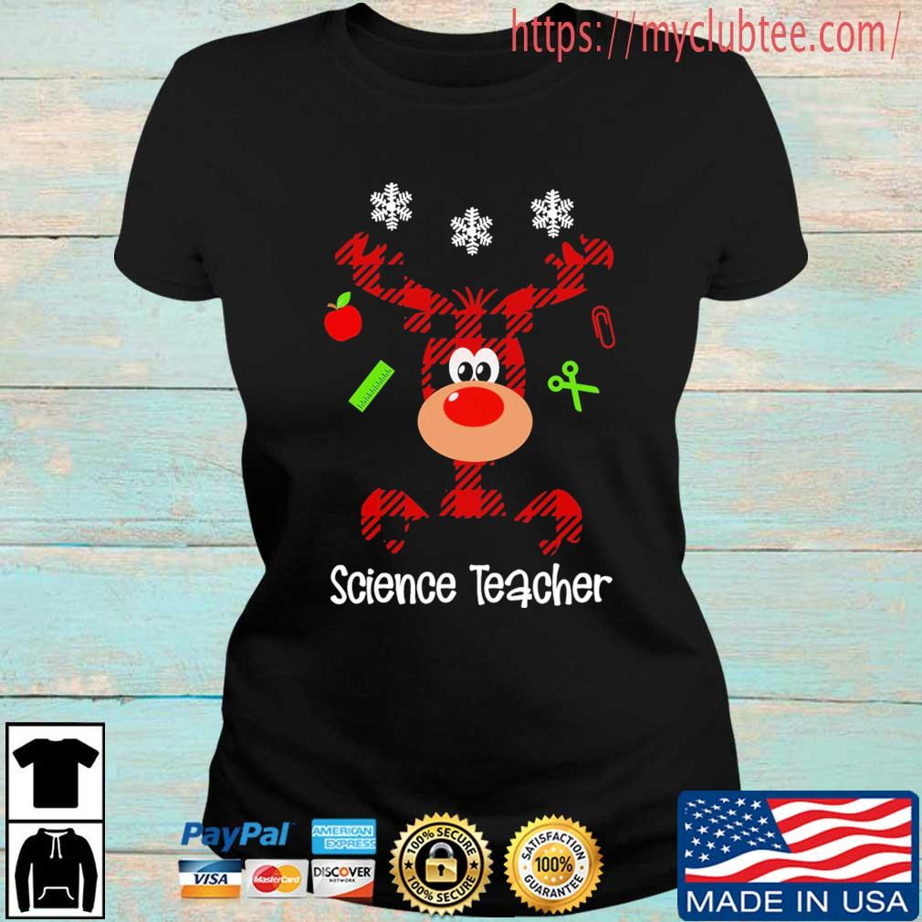 Reindeer Science Teacher Christmas sweater Ladies den