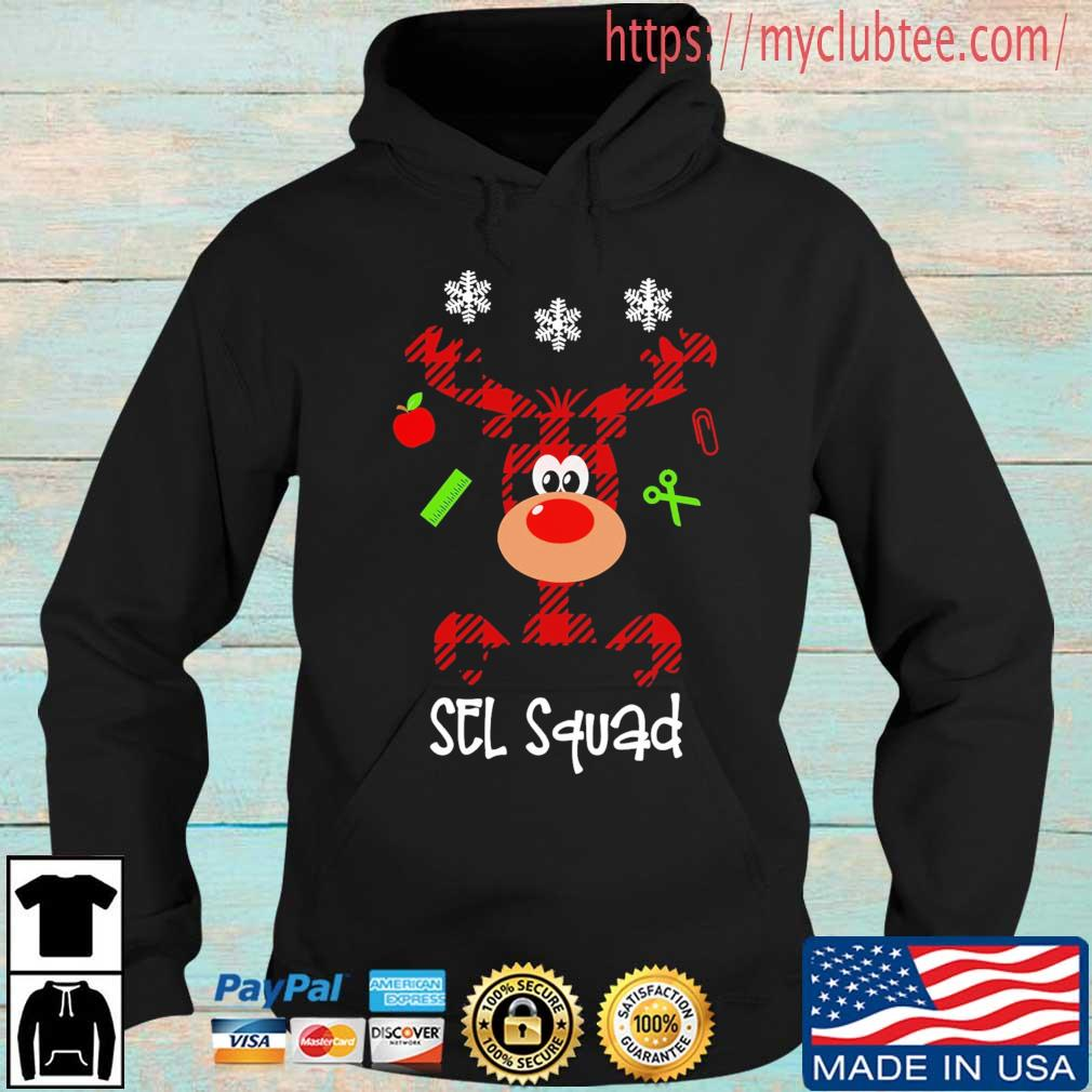 Reindeer Sel squad Christmas sweater