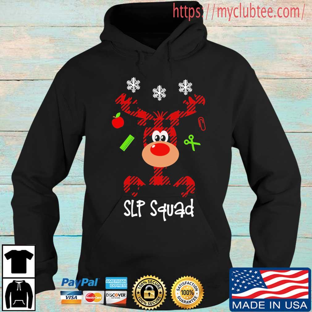 Reindeer Slp squad Christmas sweater