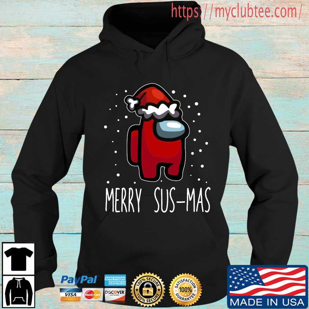 Santa Red Among Us Merry Sus-Mas Christmas sweater
