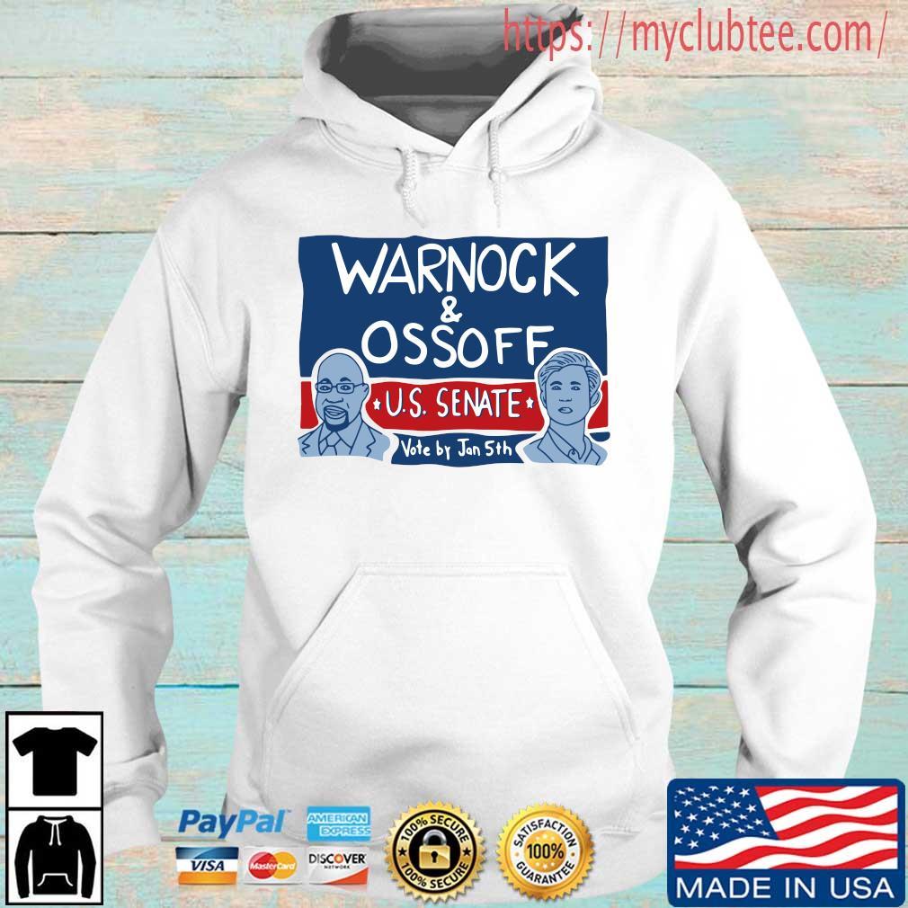 Warnock and Ossoff Us senate vote by jan 5th shirt
