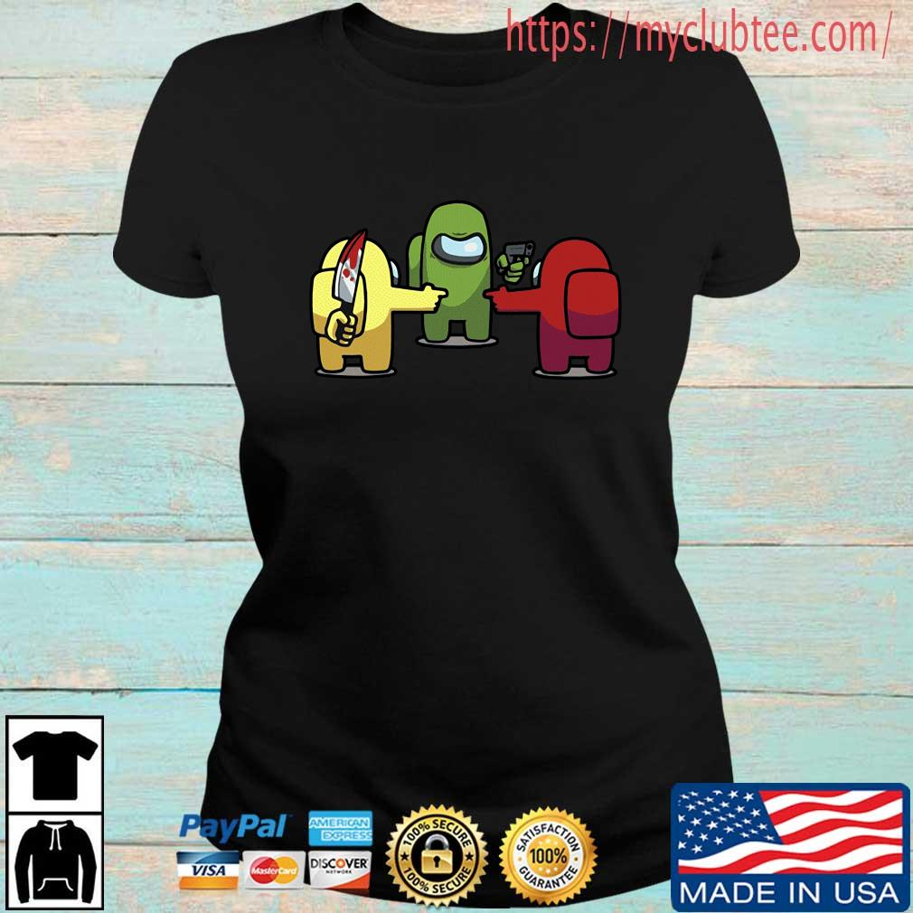 You is a Imposter Among Us Game Shirt Ladies den