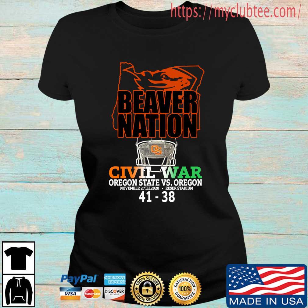 Beaver nation civil war Oregon State vs Oregon 4138 s Ladies den
