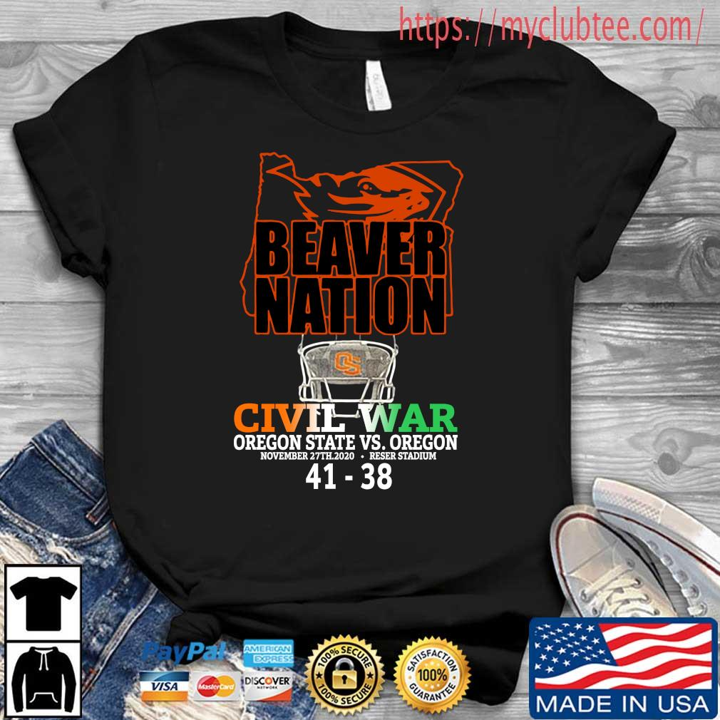 Beaver nation civil war Oregon State vs Oregon 4138 s Shirt den