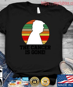 Donald Trump the cancer is gone vintage sweater, s Shirt den