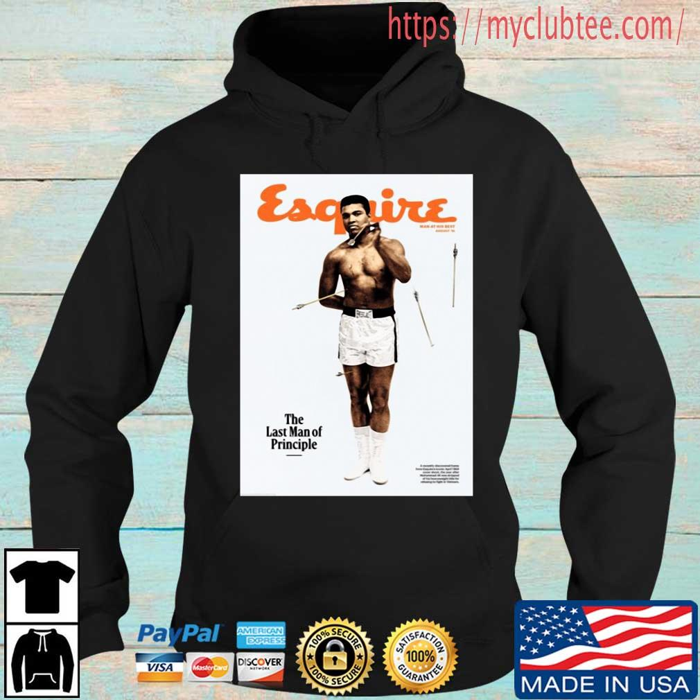 Lebron James Muhammad Ali Esquire The Last Man Of Principle Shirt
