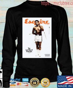 Lebron James Muhammad Ali Esquire The Last Man Of Principle Shirt Longsleeve den