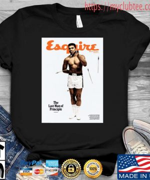 Lebron James Muhammad Ali Esquire The Last Man Of Principle Shirt Shirt den