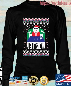 Let it snow Ugly Christmas sweater Longsleeve den
