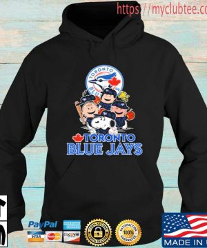 MLB Toronto Blue Jays Snoopy Charlie Brown Woodstock The Peanuts Movie Baseball Shirt Hoodie den